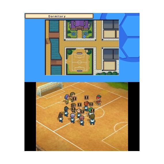 Inazuma Eleven Team Ogre Attacks 3DS
