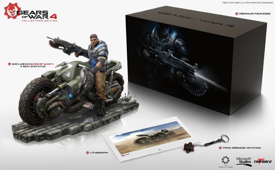 Gears of War 4 Edycja kolekcjonerska (Bez gry)