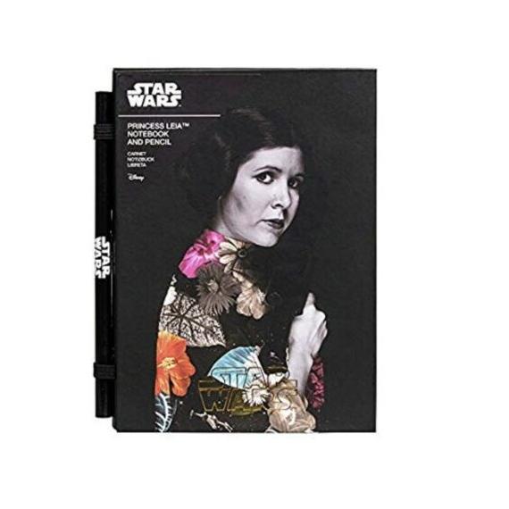 Star Wars Księżniczka Leia Notes + Ołówek
