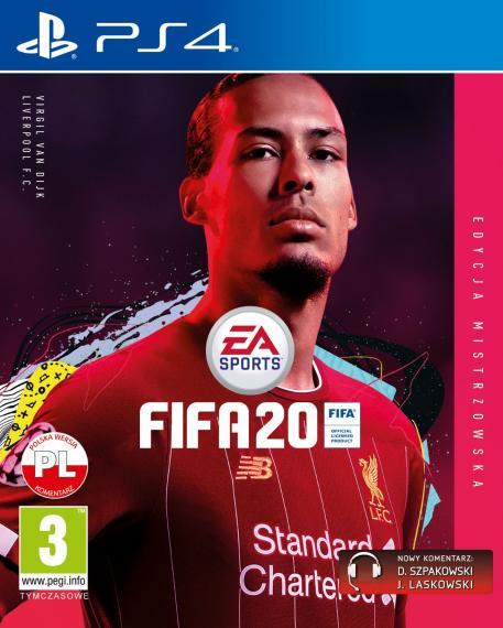 Fifa 20 Edycja Mistrzowska PL PS4