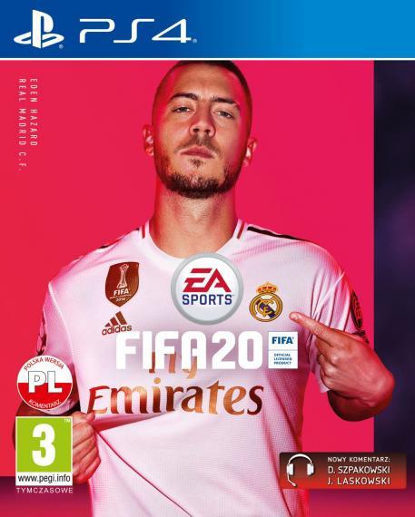 Fifa 20 PL PS4 + Bonusy