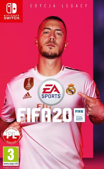 Fifa 20 PL SWITCH + Bonusy