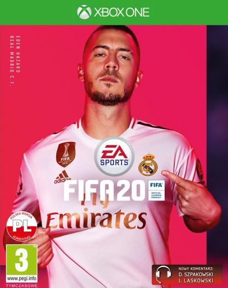 Fifa 20 PL XBOX ONE + Bonusy