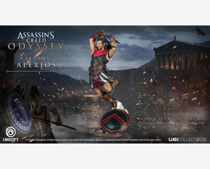 Assassin's Creed Odyssey Alexios Figurka 32 cm Limitowana wersja