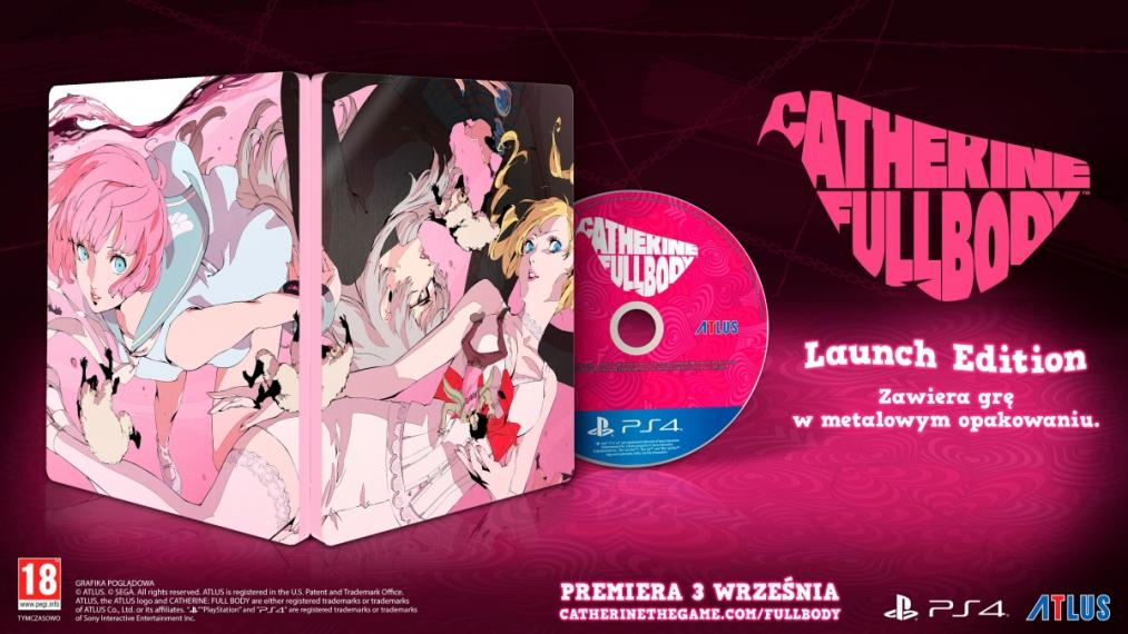 Catherine Full Body Limited Edition PS4
