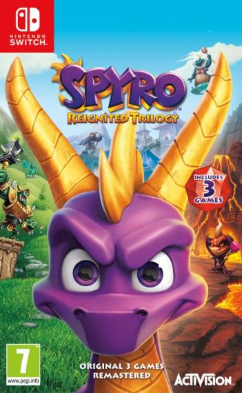 Spyro Reignited Trilogy PL SWITCH