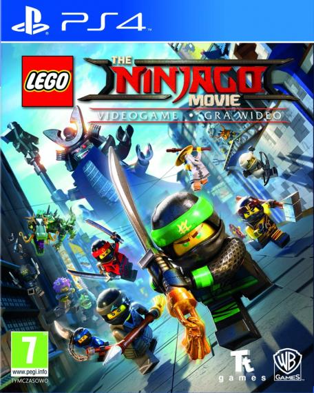 Lego Ninjago Movie - Gra Wideo PL PS4