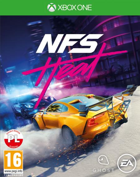 Need For Speed HEAT PL XBOX ONE