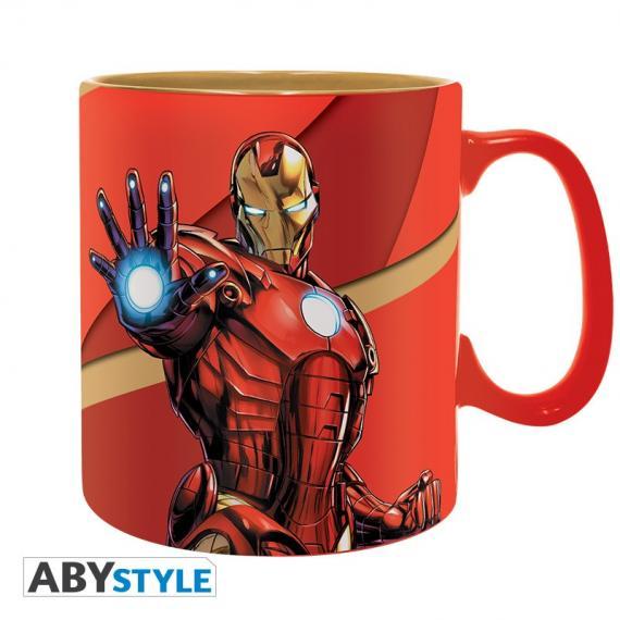 Marvel Iron Man Kubek 460 ml