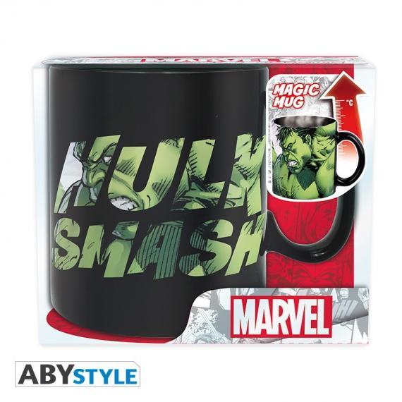 Marvel Hulk Smash Kubek zmieniający kolor 460 ml