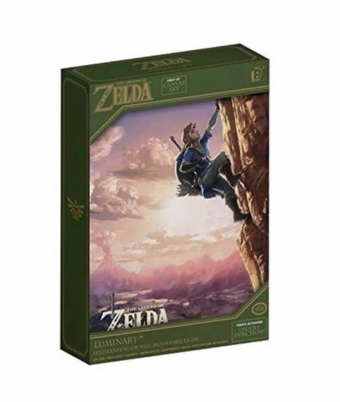 Zelda Breath of the Wild Luminart Podświetlany obraz