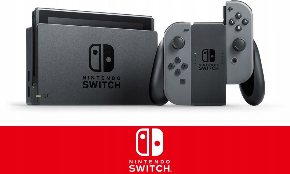 Konsola NINTENDO Switch Gray Joy-Con New 2019