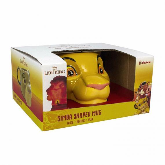 Disney Król Lew - Simba Kubek 3D 450 ml