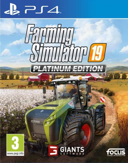 Farming Simulator 19 Platinum Edition PL PS4