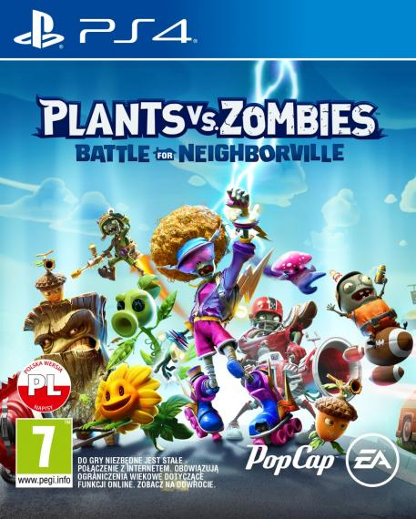 Plants Vs Zombies Battle For Neighborville PL PS4