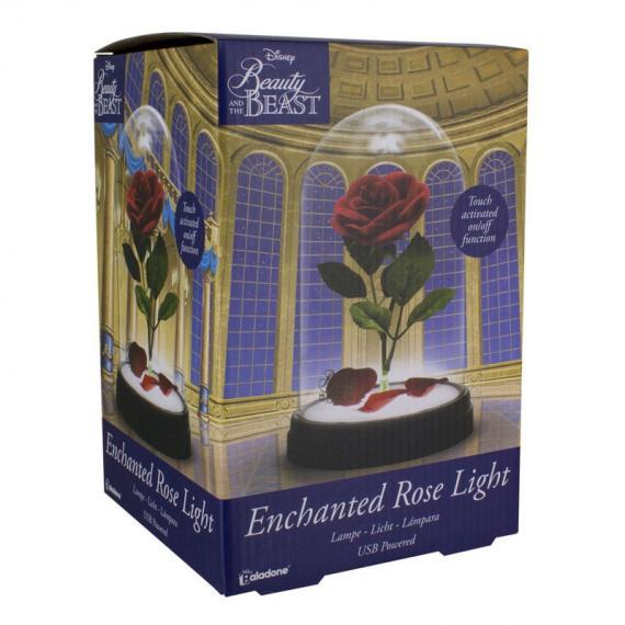 Disney Piękna i Bestia Róża Lampa