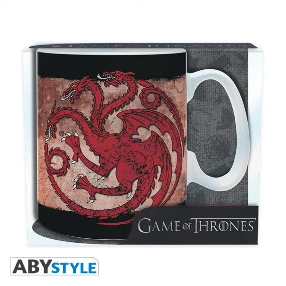 Game of Thrones - Gra o Tron Targaryen Kubek 460 ml